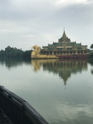 Temple thingy on the lake